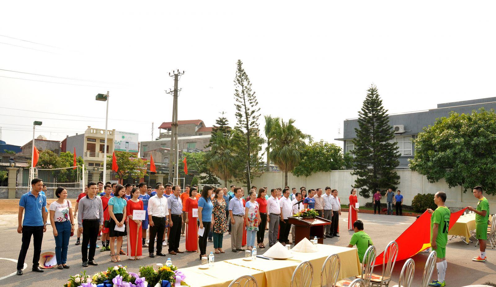 Hoạt động văn hóa thể thao chào mừng kỷ niệm 71 năm Cách mạng tháng 8 & Quốc khánh 2/9
